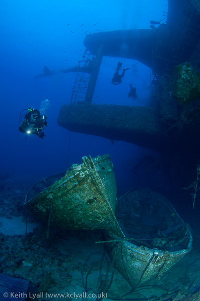 Wreck of Salem Express, Egypt